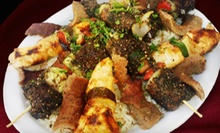 $20 for a Pita Lunch with Salads, Sides, and Drinks for Two at The Armenian Cafe (Up to $42 Value)