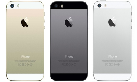 Apple iPhone 5 or 5s (GSM Unlocked) (Refurbished). Multiple Storage Options Available from $269.99–$399.99.
