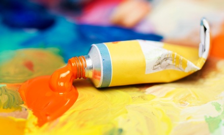 Two-Hour BYOB Canvas-Painting Class at Wine & Design (Up to 46% Off)