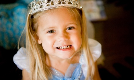 Holiday Princess Makeover Package for One or Mini Makeover Party for Four at Sweet & Sassy (Up to 54% Off)