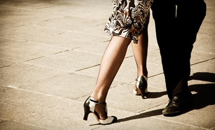 10 or 20 Group Classes or Private-Lesson Package for Two at Magic City Ballroom Dance Studio (Up to 90% Off)