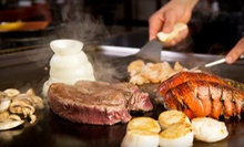 $20 for $40 Worth of Hibachi Food and Sushi at Domo 77 and Japan 77