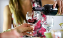 Wine and Cheese Tasting with Souvenir Wineglasses and Custom Labels for Two or Four at Boutier Winery (Up to 52% Off)