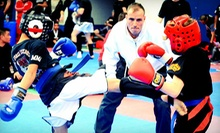 C$29 for One Month of Unlimited Kids' Kick-Boxing Classes at Ultraforce Kickboxing (C$95 Value)