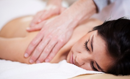 $59 for a Choice of Massage and a $60 Gift Card at Tres Tray Bodywork (Up to $125 Value)