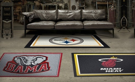 NFL, MLB, NHL, NBA, or NCAA Team Rugs from My Sports Rug (Up to 54% Off). Two Options Available.