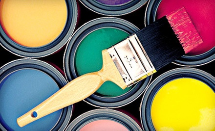 Painting for One Room with One or Two Coats on the Walls from Five Star Painting (Up to 67% Off)