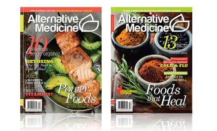 One-Year Subscription to Alternative Medicine or Natural Solutions Magazine