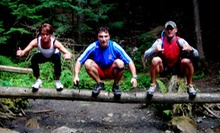 $59 for One Month of Outdoor Cross-Camp Classes and One Indoor Class from CrossFit Machine Shop ($180 Value)