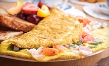 $20 for Caribbean Brunch Buffet and Drinks for Two at 876 Cafe ($39.98 Value)