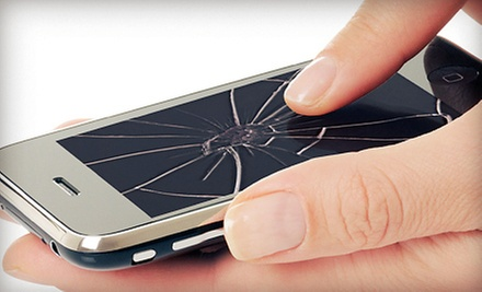 iPhone 4 or 4S Screen Replacement or $20 for $40 Worth of Electronic Repairs and Accessories at Bisconti Computers