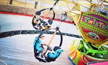 8 Ride Tickets with 50 Arcade Tokens or 16 Rides with 100 Tokens at Fun Center at Paige's Crossing (Up to 55% Off)