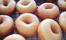 Five Buckets of Mini Donuts or $6 for $12 Worth of Mini Donuts and Select Drinks at The Dough Factory
