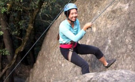 $49 for a Four-Hour Intro Outdoor Rock-Climbing Class from Treks and Tracks ($ 105 Value)