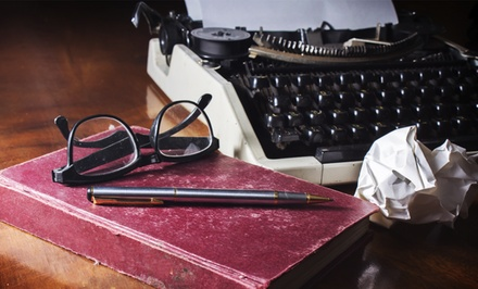 $39 for an Online How to Write a Great Novel Certification Course from Writing & Dreams ($680 Value)