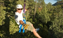 Two-Hour Ponderosa Zipline Tour for Two or Four from Full Blast Adventure Center (Up to 55% Off)