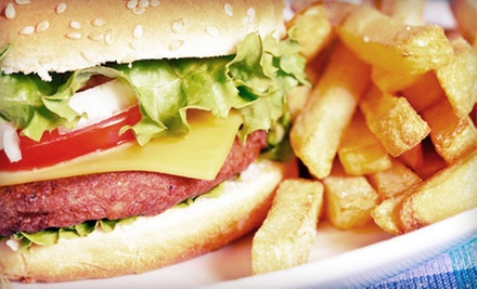 American Food for Dinner for Two or Four at Hillery Street Restaurant & Grill (Up to 59% Off)