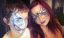One-Hour Face-Painting Party for Up to 10 or $25 for $50 Worth of Candy Bouquets at Mystical Masks
