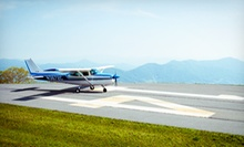 $100 for an Introductory Flight Lesson from FlyCarolina ($200 Value)