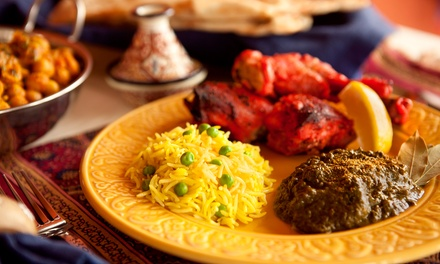 Indian Food for Two or Four or More at Shalimar Indian Restaurant (Up to 50% Off)