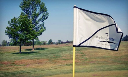 Highland Hills Golf Club Lansing Deal Of The Day Groupon