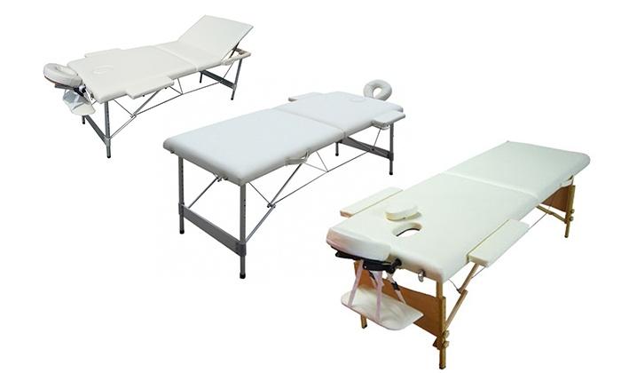 Prezziunici (it): Lettino per massaggi e estetica. Vari modelli disponibili da 99,90 € (sconto fino a 31%)
