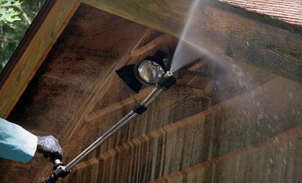Powerwashing for a One-Story or Two-Story House from Sham Shield Powerwashing, LLC (Half Off)