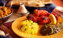 Indian Dinner Cuisine or Lunch Buffet for Two at Coriander Cuisine (Up to 56% Off). Four Options Available.