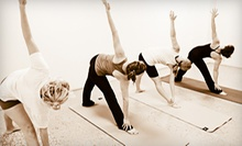 $49 for 10 Classes at All One Yoga ($130 Value)