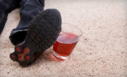 $49 for Carpet Cleaning for Three Rooms from Cantone II Carpet Cleaning ($100 Value)