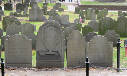 Grave Undertakings Walking Tour for Two or Four from Boston By Foot (50% Off)