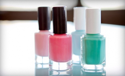 $25 for Two Sea-Salt Manicures from Nails by Stephanie at Priceless Grooming Lounge ($50 Value)