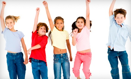 5 Kids' Fitness Classes, or a Birthday Party for Up to 12 Kids at Move Your Body Kidz Klub, Inc. (Up to 61% Off)