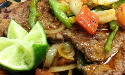 Mexican Food at Sol Azteca Mexican Restaurant in Morrisville (Up to 45% Off). Two Options Available.