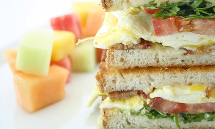 Brunch for Two or Four or Two-Course Lunch for Two at The Penthouse at The Huntley Hotel (Up to 56% Off)