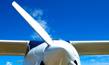 One-Hour Introductory Flight Lesson or Scenic Flight Tour at Classic Air Aviation (Up to 72% Off)
