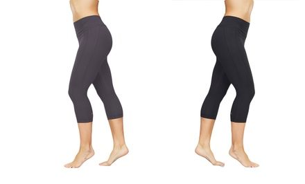 Bally Shape Tek Slimming Capri. Multiple Options Available. Free Returns.