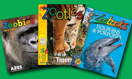 One- or Two-Year Subscription to Zoobooks, Zootles, or Zoobies Magazine (Up to 85% Off)
