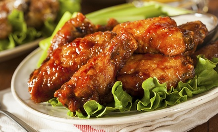 Casual, American Food for Two or Four at Fat Dog's Grille & Pub (45% Off)