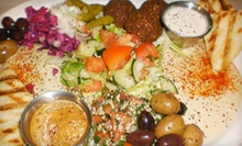 Middle Eastern Food at Jerusalems Restaurant (Half Off). Two Options Available. 