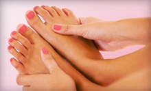 Shellac Mani with Classic Pedi or Spa Mani-Pedi at Rockabetty's Salon and Spa (Up to 53% Off)