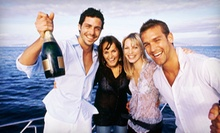 Three-Hour Party Cruise for Two or Four from Vista Yacht Cruises (Up to 57% Off)