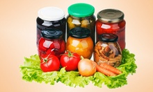 Canning Class with Lunch for One, Two, or Four at Aquaponics and Earth Sustainable Living in DeSoto (Up to 71% Off)