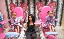 One or Three Childrens Haircuts at Little Rockstar Children's Salon (Up to 52%Off)