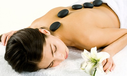 Regular or Hot-Stone Massage with Foot Scrub at Amae Tranquility Massage (Up to 49% Off)