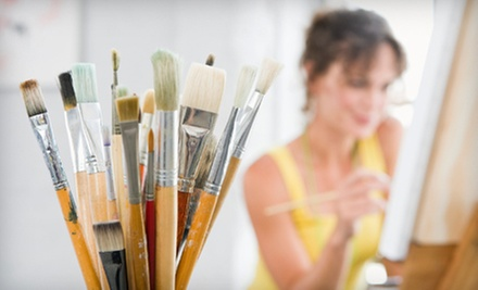 Two- or Three-Hour BYOB Painting Class for One or Two at Merlot 2 Masterpiece (Up to 51% Off)