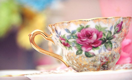 La Tea Dah Tea Party for Four or Six at Cookies & Tea for Me! (Up to 70% Off)