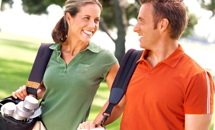 Golf for Two or Four with Cart Rental at Country Club of Canton (Up to 41% Off). Four Options Available.