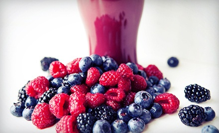 $5 for $10 Worth of Smoothies, Wraps, and Salads at Smoothie Q
