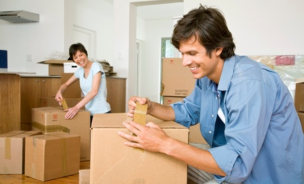 Two Hours of Moving Services with Two or Three Movers from Applewhite Movers (50% Off)